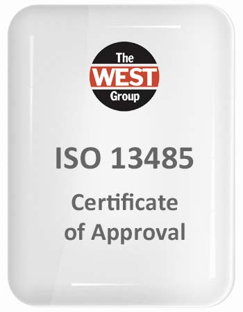 The West Group - ISO 13485 Certificate